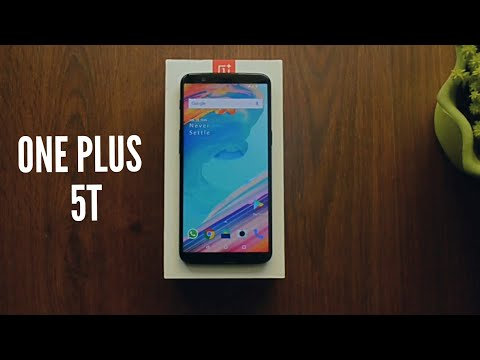 One plus 5t unboxing and review 2018