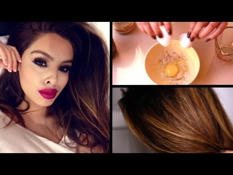 DIY Hair Mask for Dry, Damaged Hair & Faster Growth!