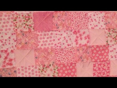 How To Make an Adorable Rag Patchwork Baby Quilt - DIY Crafts Tutorial - Guidecentral