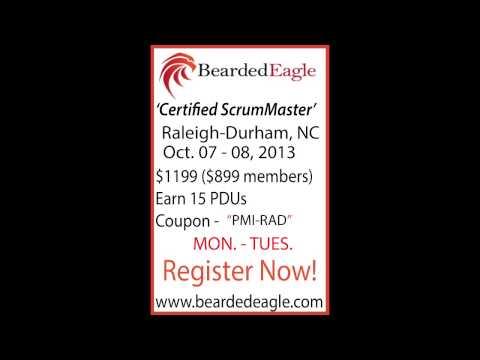 ScrumMaster Training  Raleigh-Durham,NC