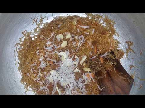 Mithi Saviyan | Sweet Vermicelli Recipe without Milk | Dry Seviyan Recipe in Hindi