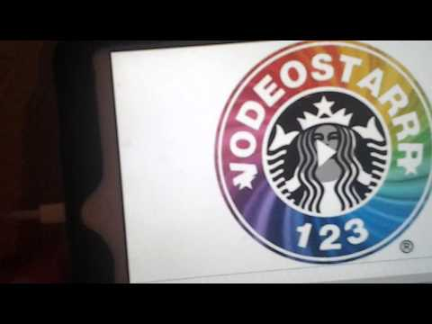 How to make your own starbucks logo