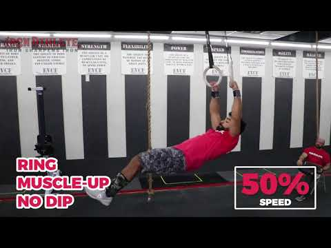 Ring Muscle-up (no dip)