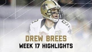 Drew Brees 350 Yards 2 Tds Saints Vs Falcons Nfl Week 17 Player Highl