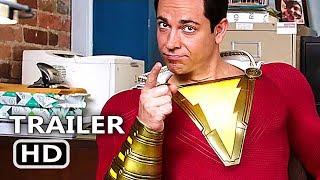 SHAZAM Trailer # 2 (2019) NEW, Superhero Movie HD