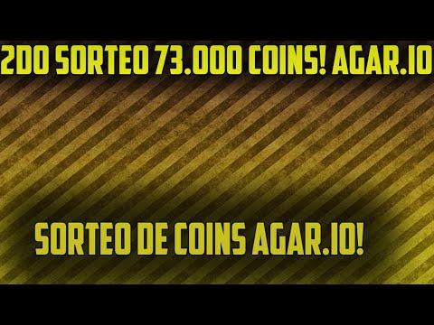 2DO SORTEO AGAR.IO 73.000 COINS! 2016