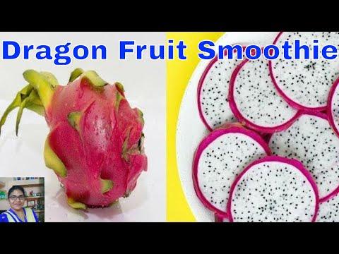 டிராகன் பழத்தை இந்த மாதிரி செஞ்சு பாருங்க  |How to prepare Dragon Fruit Smoothie
