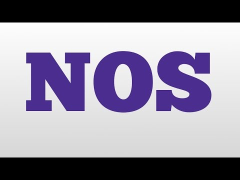 NOS meaning and pronunciation