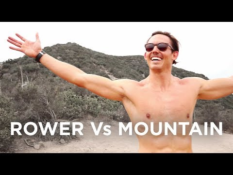 Rower Vs Mountain - I Carried A Rowing Machine Up A Mountain