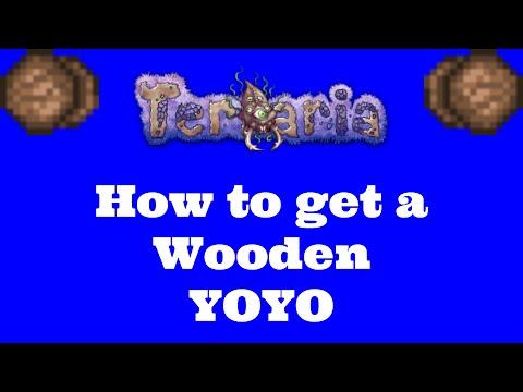 Terraria 1.3 How to Get Wooden YOYO