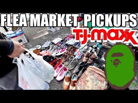 FLEA MARKET, TJ MAXX, BAPE PICK UPS!!