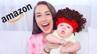 TESTING WEIRD AMAZON BABY PRODUCTS