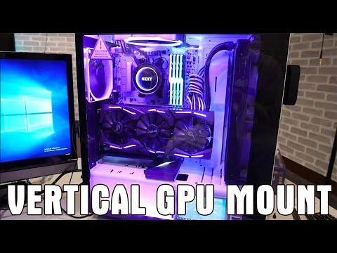 How to Mount a vertical GPU (easily!) - S340 Elite