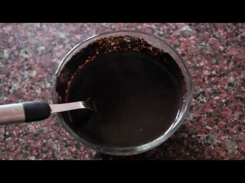 HOMEMADE 15 minutes hair dye for instant black hairs -TESTED