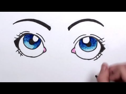 How to Draw Cartoon Eyes | MLT
