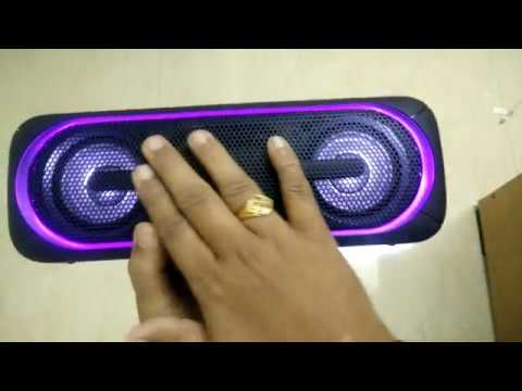 #Unboxing Sony SRS-XB40/BC IN5 Portable Bluetooth Speakers