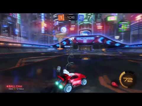 Rocket League Highlights - INSANE TRICKSHOT!