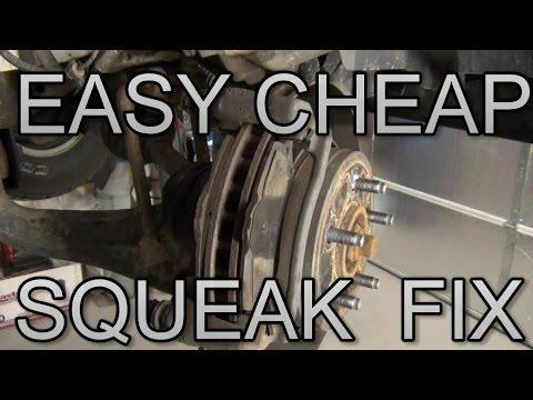 Fix Brake Squeak Cheap