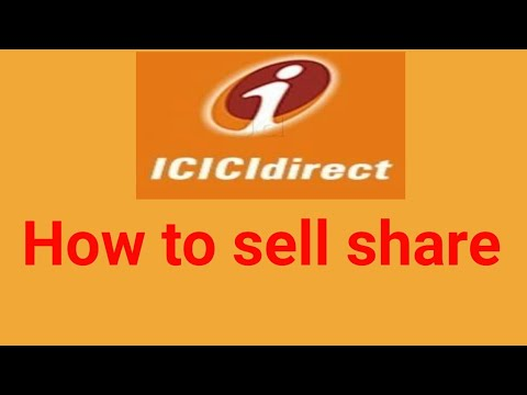 icici direct :How to sell shares