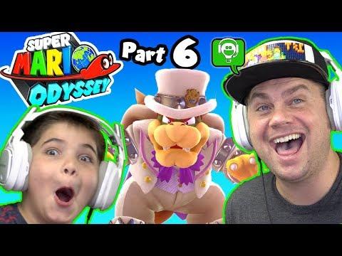 Mario Odyssey Part 6 by HobbyKidsGaming