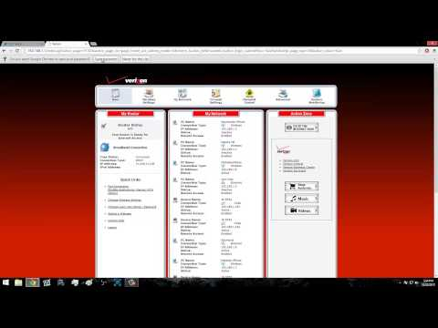 Verizon FiOS: How to change your IP Address