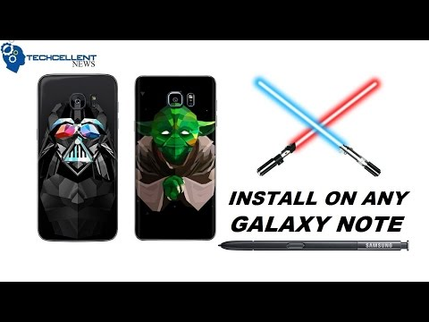 HOW TO CHANGE GALAXY NOTE S PEN SOUND TO STAR WARS LIGHTSABER!