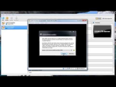 Ubuntu Server 12.04 LTS installation Deutsch