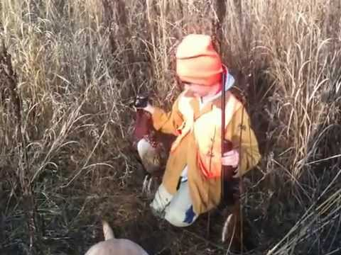 Billy's First Pheasant hunt
