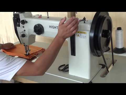 New heavy duty webbing slings sewing machine with low price