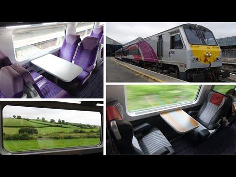 Dublin to Belfast by train, on the Enterprise