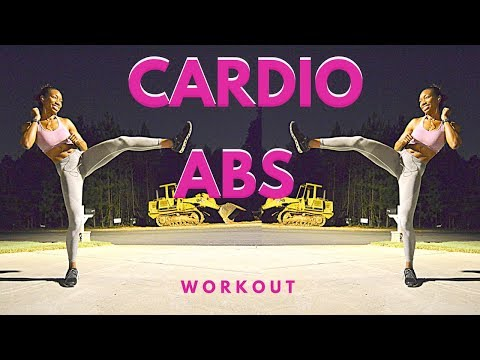 Cardio + Ab Bodyweight Burnout Workout!