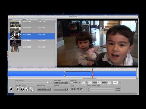 How to import a DVD into iMovie