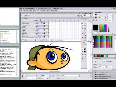 Adobe Flash Character Design & Animation
