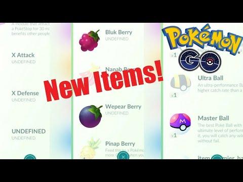 New Berries | X Atk - X Def + Master Ball in Pokemon Go!
