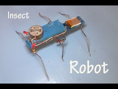 How to make Insect robot , Homemade robot for kids