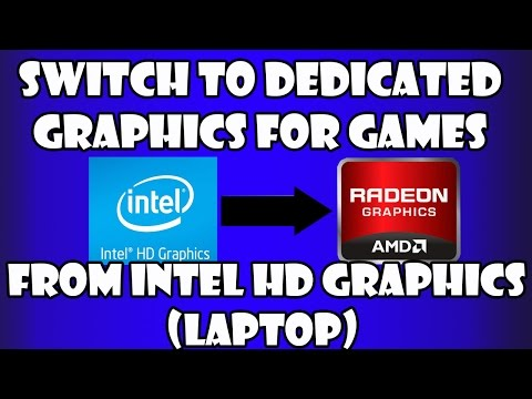 How To Switch From Intel HD Graphics To Switchable AMD Graphics?(Laptop)
