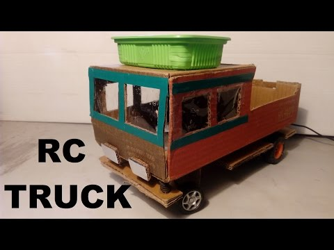 How to Make a Remote Control Truck At Home Easy Way