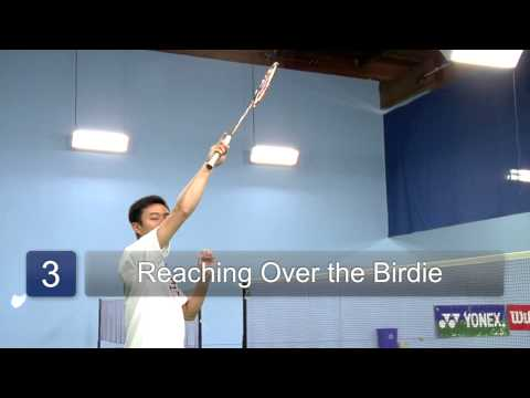 How to Hit a Smash Shot in Badminton : Badminton
