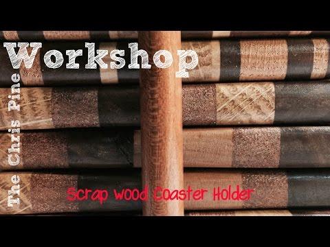 Scrap Wood Coaster Holder