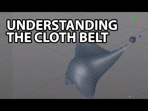 Download Cinema4D Tutorial: Understanding the Cloth Belt
