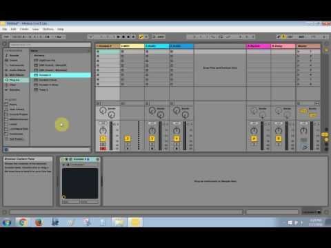 Set up Kontakt in Ableton Live