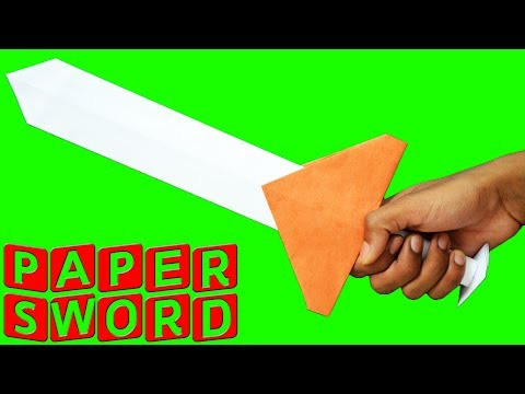 How to make a Paper Sword | Ninja Sword