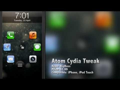 Atom Cydia Tweak: A New Android-Like iOS Lockscreen