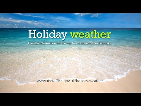 February holiday weather - Turkey, Spain, Cyprus, Egypt, Canary Islands