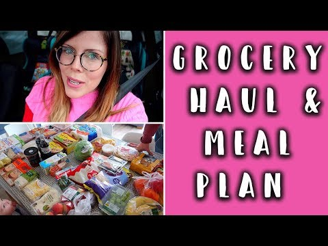 GROCERY HAUL - FAMILY MEAL IDEAS - MORRISONS FOOD SHOP