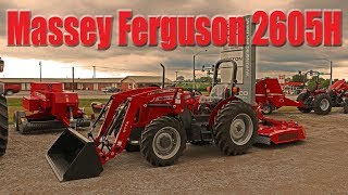 Massey Ferguson 1760M Premium Compact Tractor: Power Shuttle with