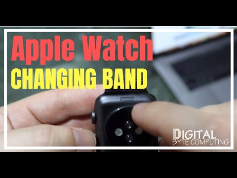 How to remove, add and change the Apple Watch Band, Strap