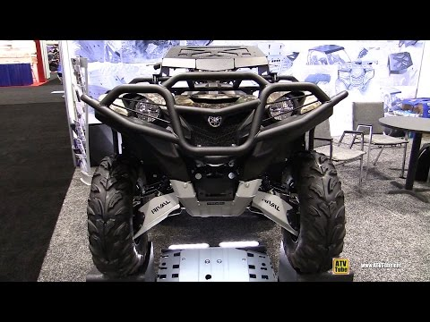 2016 Yamaha Grizzly with Rival Accessories - Walkaround-  2016 AIMExpo Orlando