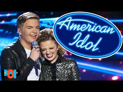 Madde and Caleb from American Idol's