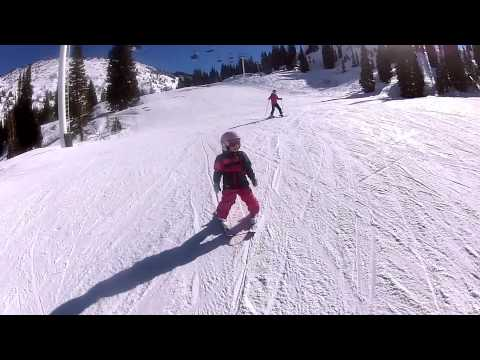 Learn to Ski (with Kids) - Lesson 4: Turning